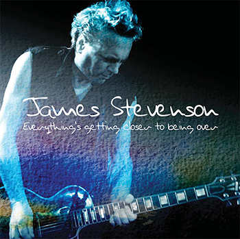 James Stevenson solo album cover