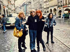 The band lost in Bern