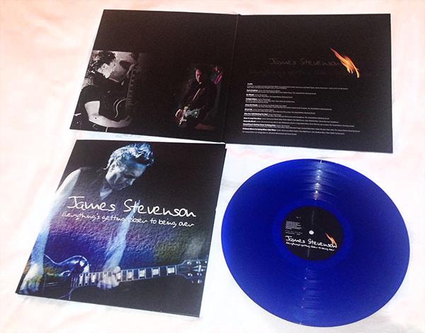 James Stevenson solo album vinyl