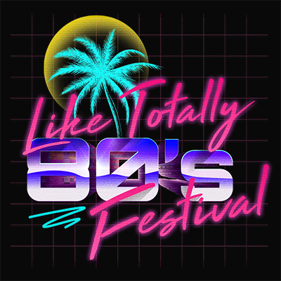Like Totally 80s Festival logo