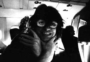 Jay on a flight